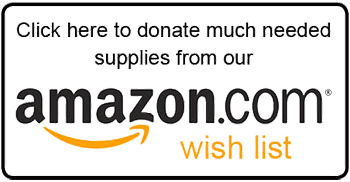 Click here to donate much needed supplies from our amazon wishlist